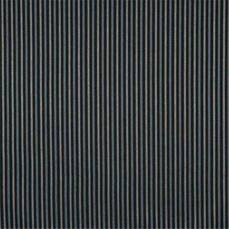 Designer Fabrics F748 54 in. Wide Black And Silver, Striped Heavy Duty Crypton Commercial Grade Upholstery Fabric Heavy Duty Upholstery