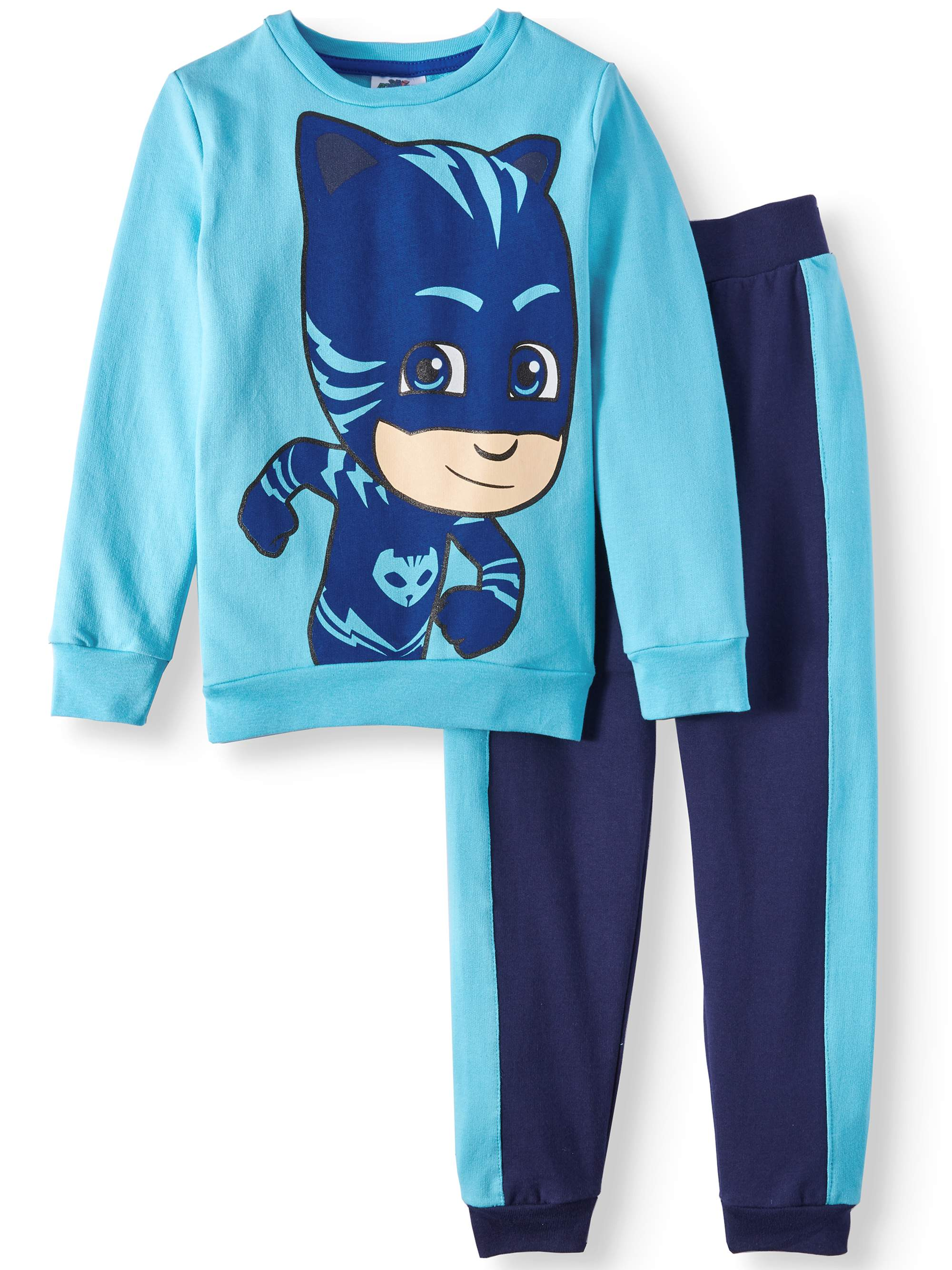 Crew Sweatshirt and Jogger, 2-Piece Set (Little Boys)