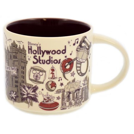 Disney Parks Starbucks Been There Hollywood Studios Coffee Mug New with Box ()