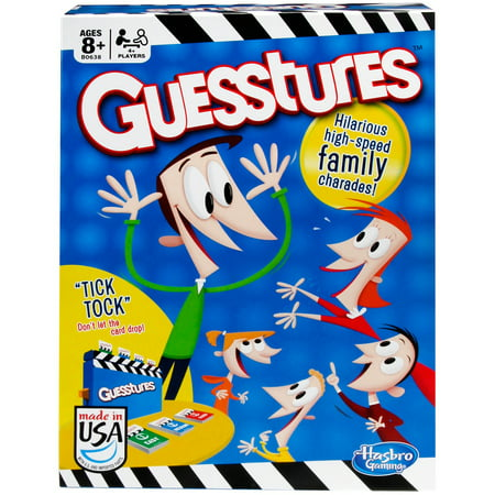 Guesstures Game, Game for Ages 8 and up - 8 Year Old Games For Boys