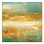 Artistic Home Gallery 'Golden Possibilities' by Wani Pasion Painting Print on Wrapped Canvas