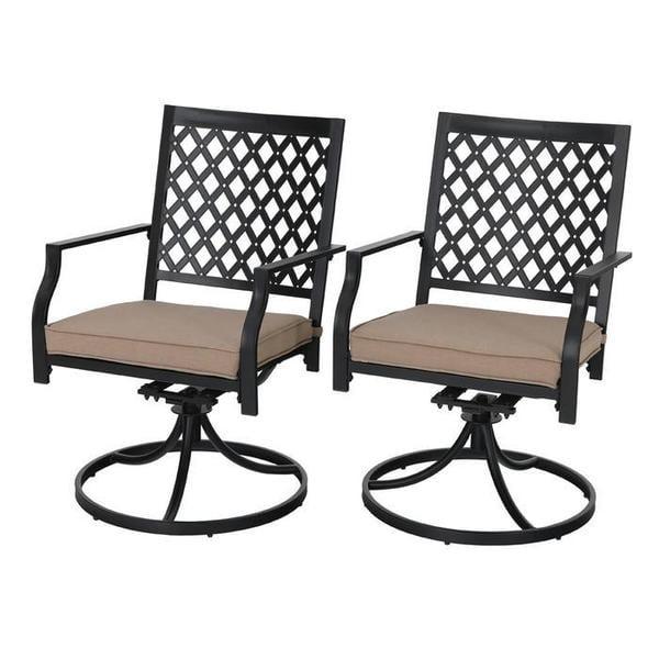 Sophia William Outdoor Swivel Patio, Patio Furniture Swivel Rocker Chairs
