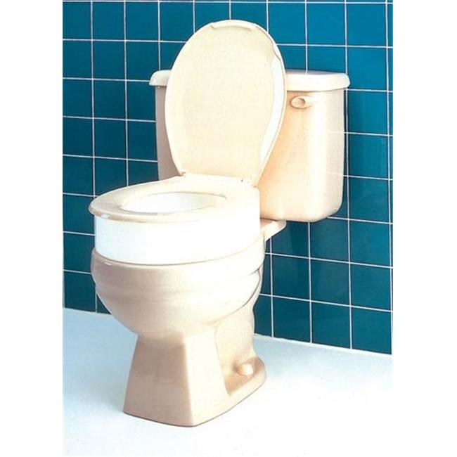 Sensational Aquasense Raised Toilet Seat With Lid White 2 Inch Gmtry Best Dining Table And Chair Ideas Images Gmtryco