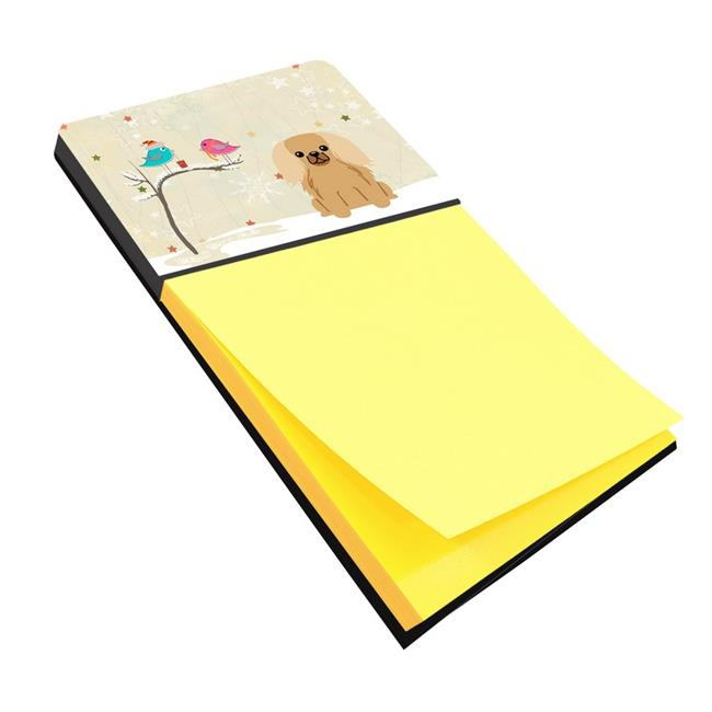 Christmas Presents Between Friends Pekingnese Fawn Sable Sticky Note Holder - image 1 de 1