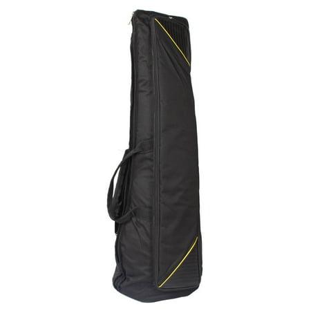 Zimtown Slap-up Fashionable Fabric Tenor Trombone Gig Bag Lightweight Case Black ()