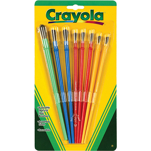 Crayola Art Brushes, 8-Count