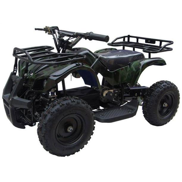 mototec atv wheeler 24v camo v4 battery powered four walmart