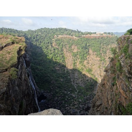 LAMINATED POSTER Karnataka Cliff Western Ghats Waterfall Jog Falls Poster Print 24 x -