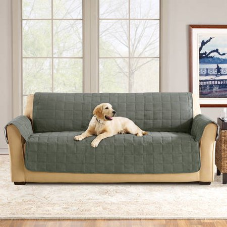 Sure Fit Ultimate Waterproof Quilted Pet Sofa Cover