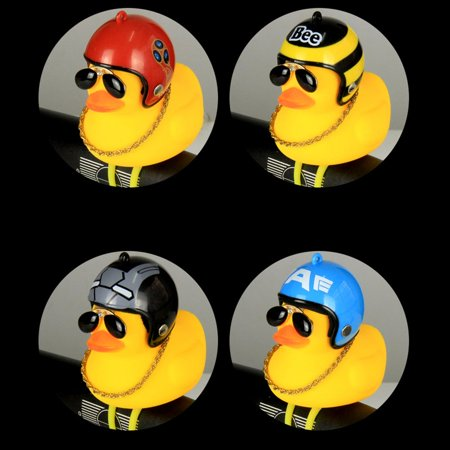 Broken Duck Sunglasses Duck Bicycle Duck Bell Social Turbo Duck Horn Car Light - image 10 of 10