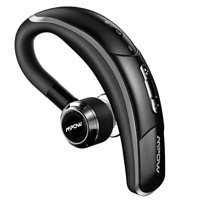 Mpow Wireless Bluetooth 4.1 Headset Headphones with Clear Voice Capture Technology for iPhone Samsung Galaxy and Other Cellphones (Black)