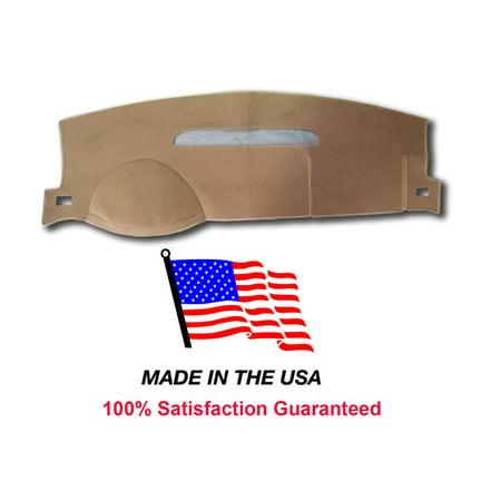 2008-2013 Chevy Silverado 1500 Beige Carpet Dash Cover Mat CH83-5 1 Glove Box ()