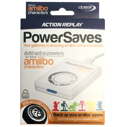 Action Replay Power Saves Amiibo Portal by Datel