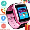 Jeobest Children Smart Watch - Kids Smart Watch Wristwatch with camera GPS Tracker Anti-Lost Waterproof Suitable For Android For Girls and Boys (SIM card is not included)(Pink) Children Smart Watch - Kids Smart Watch Wristwatch with camera GPS Tracker Anti-Lost Waterproof Suitable For Android For Girls and Boys (SIM card is not included)(Pink)
