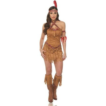 Tan Native American Maiden Adult - Ahsoka Tano Adult Costume