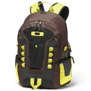 Oakley Mens Echo Charlie Backpack Lime Brown/Yellow