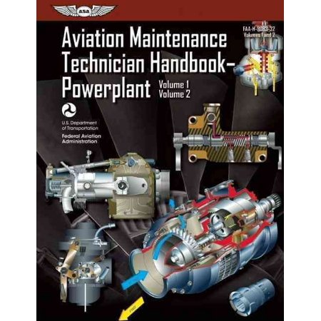 Aviation Maintenance Technician Handbook Powerplant  Faa H 8083 32  Volumes 1 And 2