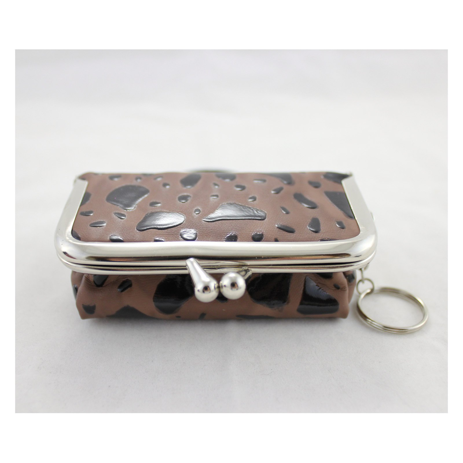 Rectangle Locket Jewelry Travel Case - Brown - 4L x 2.6W in.
