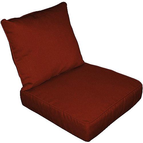 Solid Terracotta Chair Cushion Set Walmart