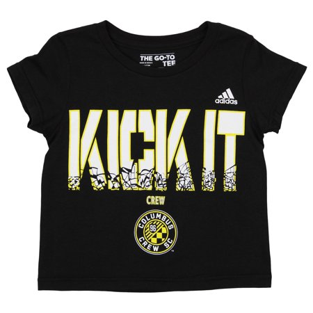 Adidas MLS Toddlers Columbus Crew SC Kick It Tee,