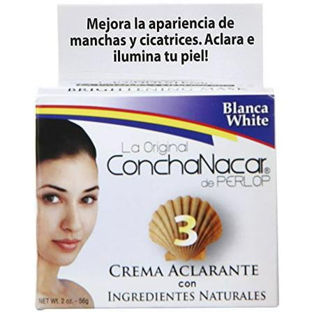 Skin Bleach Lightening - Concha Nacar #3 (Bleach) 2 Oz