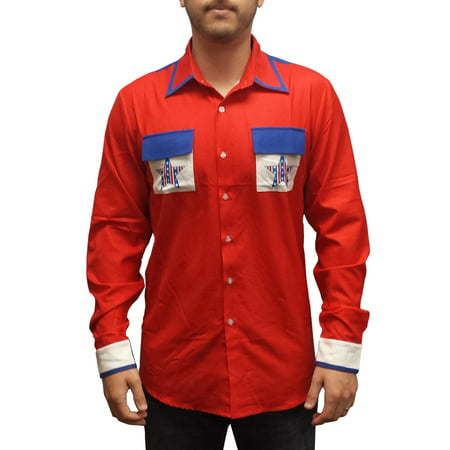 Roy Munson Bowling Shirt Kingpin Movie King Pin Costume Woody Harrelson](Costume King)