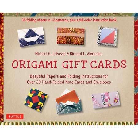 Origami Gift Cards Kit : Beautiful Papers and Folding Instructions for Over 20 Hand-folded  Note Cards and Envelopes Rag Doll Note Cards