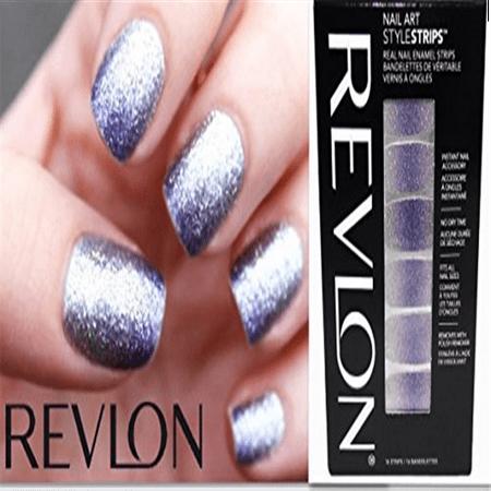 Pack of 2- Revlon Nail Art Strips-Eye Candy