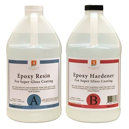 EPOXY RESIN 2 Gal kit for Super Gloss Coating and Table