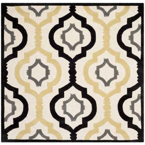 Safavieh Chatham Ivory Contemporary Rug - Square 5'