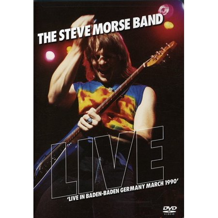 The Steve Morse Band: Live in Baden-Baden Germany, March 1990 (DVD)