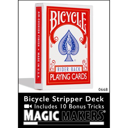 Magic Makers Bicycle Stripper Deck