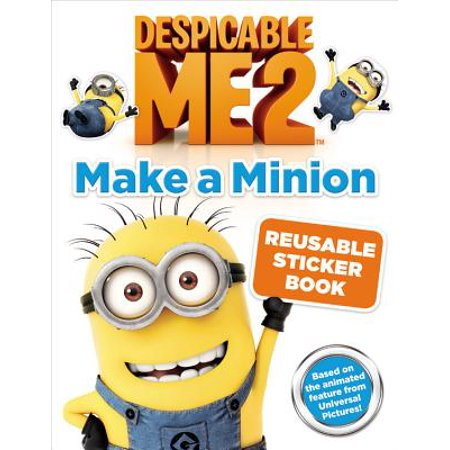 Deable Me 2 Make A Minion Reusable Sticker Book