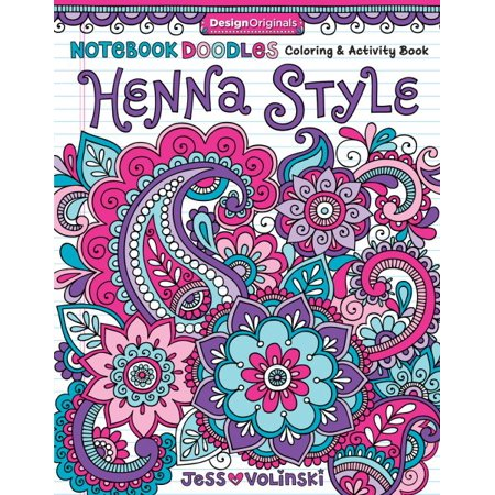 Henna Style Adult Coloring Book