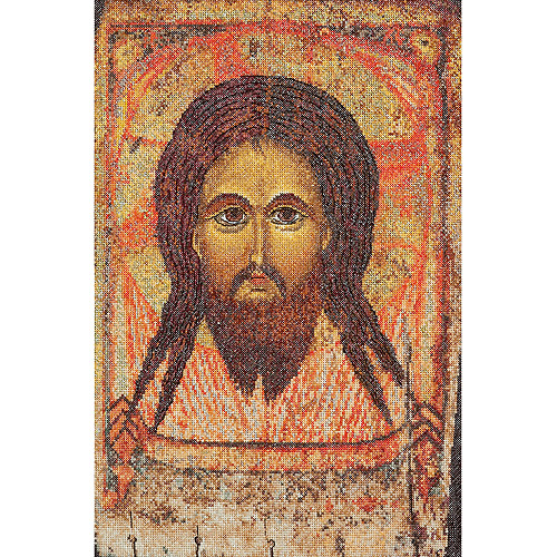 Thea Gouverneur Counted Cross-Stitch Kit, Icon Holy Face