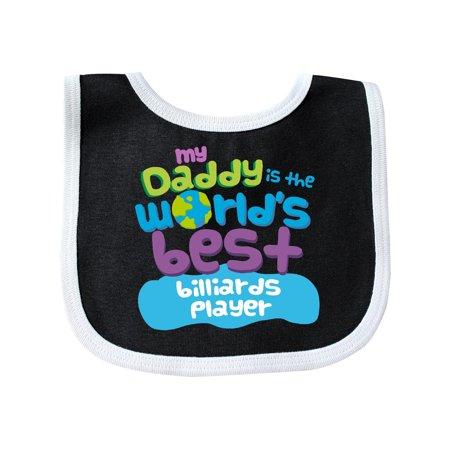 World's Best Billiards Player Daddy Baby Bib