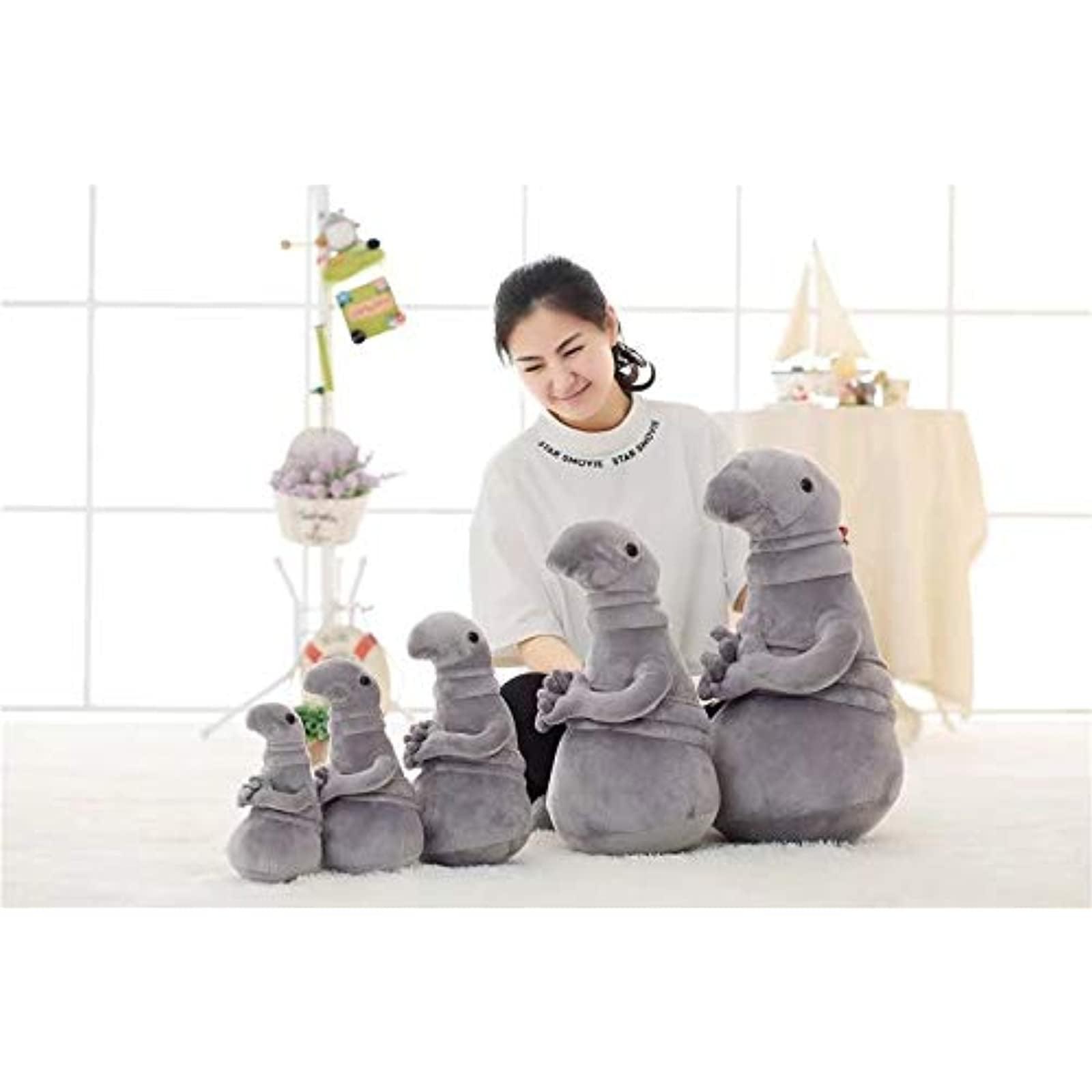 Tubby Gray Blob Zhdun Stuffed Doll Gray Tubby Plush Doll Toys 30cm Gift For Kid