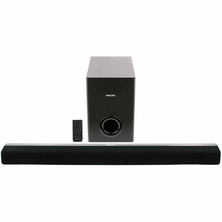 Philips Css2123b F7 20w Soundbar System With Pive Subwoofer Refurbished