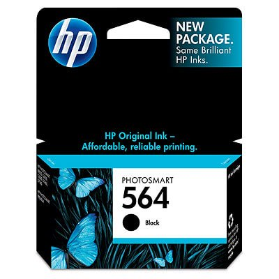 HP 564 Black Original Ink Cartridge ()