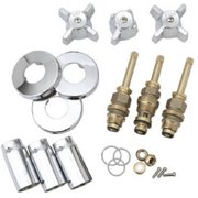 Brass Craft SK0336 8.87 x 7.87 in. Chrome Tub & Shower Faucet Rebuilt Kit