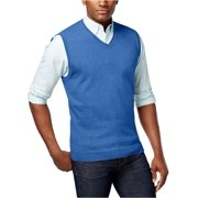 Club Room Mens Knit V-Neck Sweater Vest