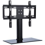 2 Inch Wall Mounted Bracket (Table Top TV Stand Base, Universal Replacement ta bletop Pedestal Base Stand with Wall Mount Bracket for TV LCD/LED, Plasma Screens 26 up to 32 Inch )