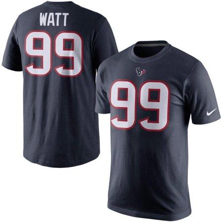 buy popular b55ed c6762 JJ Watt Houston Texans Nike Player Pride Name & Number T-Shirt - Navy