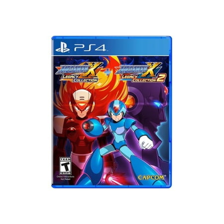 Mega Man X Legacy Collection 1+2, Capcom, PlayStation 4, (Megaman Battle Network 6 Cybeast Gregar Gameshark Codes)