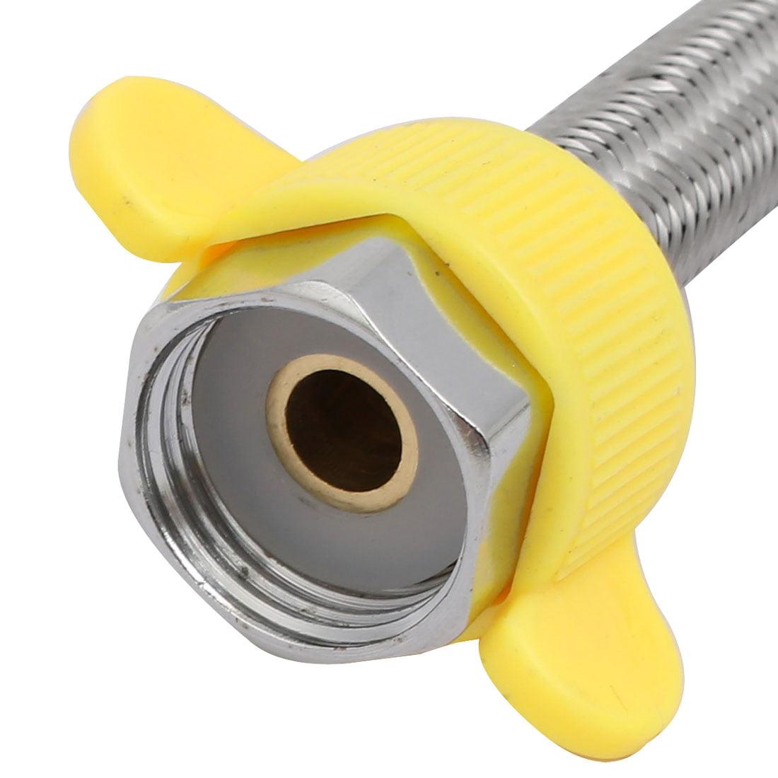 """F1/2"""" G1/2"""" 304 tuyau Flex alimentation eau toilette 13mmx30cm - image 2 de 3"""
