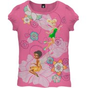 Disney Fairies - Flower Power Juvy Girls T-Shirt
