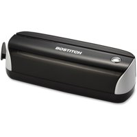 Bostitch Electric + Battery Powered 3-Hole Punch, Black