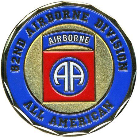 82nd Airborne Division All American Coin