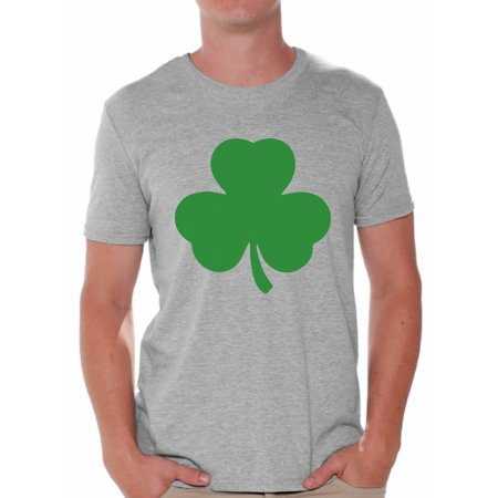 Mens Great Gatsby Outfit (Awkward Styles Irish Clover Shirt St. Patricks Day T Shirt for Men Lucky Shamrock Shirt Irish Pride St Patricks Outfit Irish Gifts for Him St Paddy's Day Men's Irish Shirt)