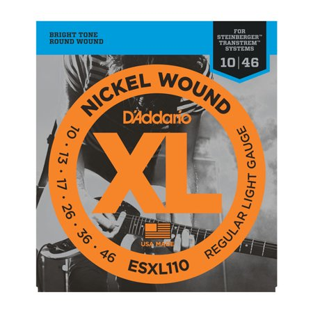 D'Addario ESXL110 Regular Light Double Ball End 10-46